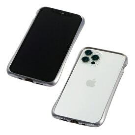 【2021年1月下旬】 DEFF ディーフ 【iPhone用アルミバンパー】CLEAVE Aluminum Bumper for iPhone 12/ 12 Pro DCB-IPCL20MASV シルバー