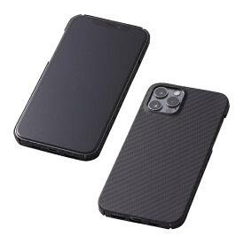 DEFF ディーフ 【iPhone用アラミド繊維ケース】Ultra Slim & Light Case DURO for iPhone 12 Pro Max DCS-IPD20LKVMBK2 ブラック