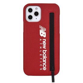 エムディーシー MDC iPhone 12/12 Pro New Balance [ジップ付き背面ケース/レッド] md-74588-2