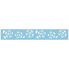 呉竹 Kuretake KUREPUNCHBORDERDECORATIONROSEGARDEN SBKPB130-11
