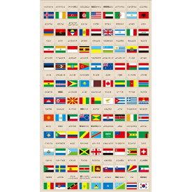 デビカ DEBIKA 世界の国旗シールデコレートタイプ 073107