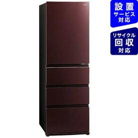 AQUA アクア 冷蔵庫 クリアモカブラウン AQR-VZ46K-T [4ドア /右開きタイプ /458L]《基本設置料金セット》