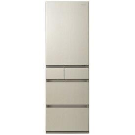パナソニック Panasonic 冷蔵庫 PXタイプ サテンゴールド NR-E457PX-N [5ドア /右開きタイプ /450L]《基本設置料金セット》