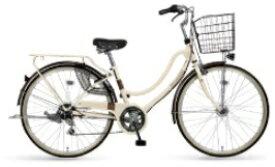 MARUKIN マルキン 26型 自転車 フロートミックス266-C(ベージュ/外装6段変速《適応身長:144cm〜》) MK-21-039【2021年モデル】【組立商品につき返品不可】 【代金引換配送不可】