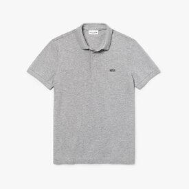 ラコステ LACOSTE メンズ ポロシャツ パリポロシャツ レギュラーフィット ストレッチ(4(Mサイズ)/グレー)PH5522M