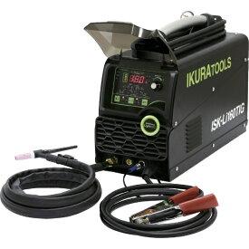 育良精機 IKURA TOOLS 育良 ポータブルバッテリーパルスTIG溶接機(40068) ISK-LI160TIG