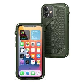 トリニティ Trinity カタリスト iPhone 12 mini 衝撃吸収 Vibe CT-IPVCIP20S-GR グリーン