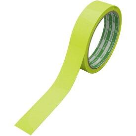 日東エルマテリアル Nitto L Materials 日東エルマテ 高輝度蓄光蛍光テープ 24mm×5M レモンイエロー(グリーン) NBK-2405CLY