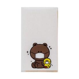 LINE Friends Japan ラインフレンズジャパン BROWN&FRIENDS 抗菌マスクケース