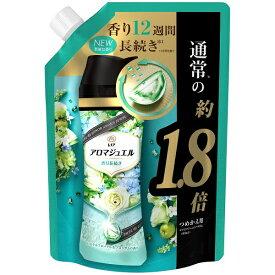 P&G ピーアンドジー レノア ハピネス アロマジュエル 香り付け専用ビーズ パステルフローラル&ブロッサムの香り 詰め替え 特大 730mL