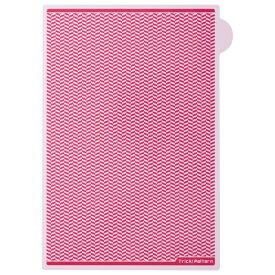 ヒサゴ HISAGO 〔クリアファイル〕トリック!クリアシート [A4 /1枚] ピンク OP2450