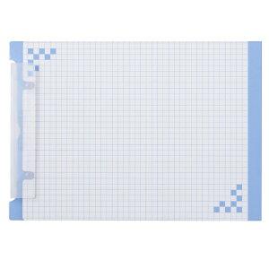 ヒサゴ HISAGO リングファイル [A4 /横 /2穴 /5冊] 折り込み下敷き付 キャリーバインダー ブルー BH01A5B