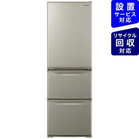 パナソニック Panasonic 冷蔵庫 Nタイプ グレイスゴールド NR-C372NL-N [3ドア /左開きタイプ /365L]《基本設置料金セット》