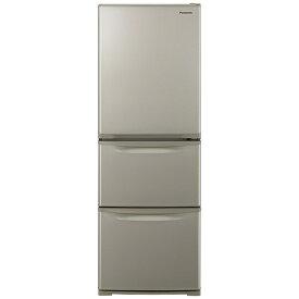 パナソニック Panasonic 冷蔵庫 Cタイプ グレイスゴールド NR-C342CL-N [3ドア /左開きタイプ /335L]《基本設置料金セット》