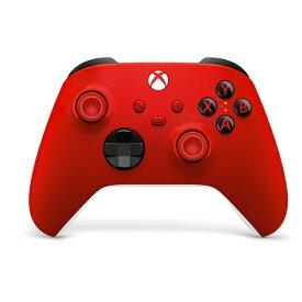 マイクロソフト Microsoft 【純正】Xbox ワイヤレス コントローラー(パルス レッド) QAU-00015【Xbox Series X S/Xbox One/PC】