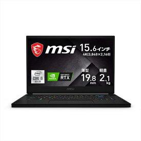 MSI エムエスアイ GS66-10UH-001JP ゲーミングノートパソコン GS66 Stealth 10U(4K) ブラック [15.6型 /intel Core i9 /SSD:1TB /メモリ:32GB /2021年1月モデル]