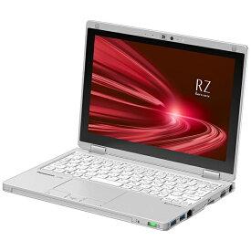 パナソニック Panasonic CF-RZ8QDEQR ノートパソコン レッツノート RZシリーズ(タッチパネル) シルバー [10.1型 /intel Core i5 /SSD:256GB /メモリ:8GB /2021年1月モデル]