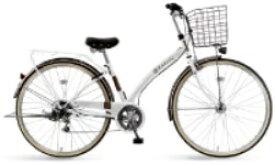 MARUKIN マルキン 自転車 ルネシック276C ルネシック ホワイト [27×1-3/8 /外装6段 /27インチ]【組立商品につき返品不可】 【代金引換配送不可】