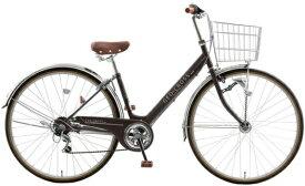アサヒサイクル Asahi Cycle 自転車 ジオクロスプラス ツヤケシブラック FV76BK [27x1-3/8 /外装6段 /27インチ]【組立商品につき返品不可】 【代金引換配送不可】