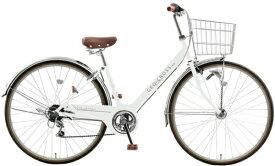 アサヒサイクル Asahi Cycle 27型 自転車 ジオクロスプラス276(ホワイト/外装6段変速) FV76BK【2021年モデル】【組立商品につき返品不可】 【代金引換配送不可】