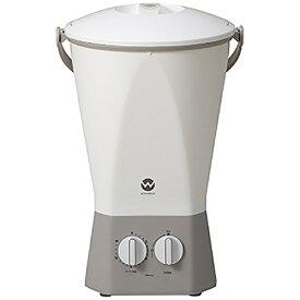 シービージャパン CB Japan バケツ型洗濯機 ウォッシュボーイ TOM-12W [洗濯0.6kg /乾燥機能無 /上開き]