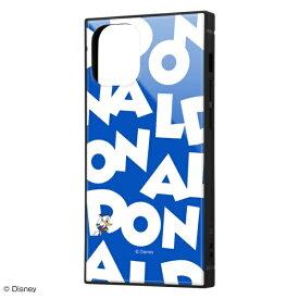 イングレム Ingrem iPhone 12 mini /『ディズニーキャラクター』/耐衝撃ハイブリッドケース KAKU/『ドナルドダック/I AM』 IQ-DP26K3TB/DD003