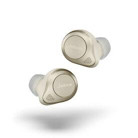 JABRA ジャブラ フルワイヤレスイヤホン 100-99190004-40 ゴールド ELITE85T [リモコン・マイク対応 /ワイヤレス(左右分離) /Bluetooth /ノイズキャンセリング対応]