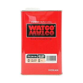 WATCO ワトコ ワトコオイル ナチュラル 1L
