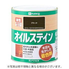 カンペハピオ Kanpe Hapio オイルステインA ブラック 0.7L