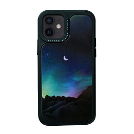 ROA ロア iPhone 12 mini 5.4インチ対応Twinkle cover ホシを数える夜 Green