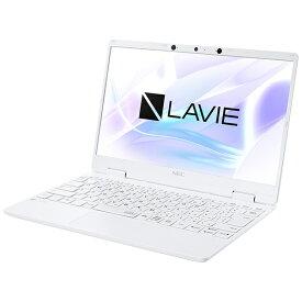 【2021年02月25日発売】 NEC エヌイーシー PC-N1275BAW ノートパソコン LAVIE N12シリーズ パールホワイト [12.5型 /intel Core i7 /SSD:512GB /メモリ:8GB /2021年1月モデル]