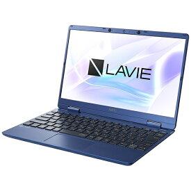 【2021年02月25日発売】 NEC エヌイーシー PC-N1275BAL ノートパソコン LAVIE N12シリーズ ネイビーブルー [12.5型 /intel Core i7 /SSD:512GB /メモリ:8GB /2021年1月モデル]