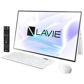 NEC エヌイーシー PC-A2797BAW デスクトップパソコン LAVIE A27シリーズ(ダブルチューナ) ファインホワイト [27型 /intel Core i7 /メモリ:16GB /HDD:4TB /SSD:256GB /2021年1月モデル]