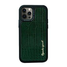 ROA ロア iPhone 12/12 Pro 6.1インチ対応leather Case Green