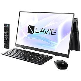 NEC エヌイーシー PC-A2336BZB-2 デスクトップパソコン LAVIE A23シリーズ(TVチューナ) ファインブラック [23.8型 /intel Core i3 /メモリ:8GB /SSD:512GB /2021年1月モデル]【point_rb】
