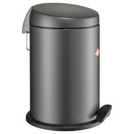 Wesco ウェスコ ペダルビン&プラスチックライナー CAPBOY グレーマット 121212-79 [13L /ペダル式]
