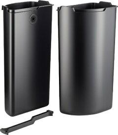 Wesco ウェスコ MULTI COLLECTOR (art.no 171631) 交換用ライナー 12L+12L ブラック 171012-62 [24L /ペダル式]