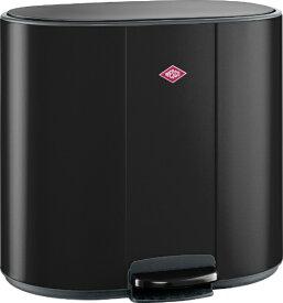 Wesco ウェスコ キッチンペダルビン&プラスチックライナーセパレートダブル 25L+25L MULTI COLLECTOR 2 ブラックマット 171621-73 [50L /ペダル式 /2分別]
