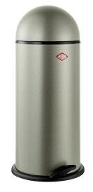 Wesco ウェスコ ペダルビン&メタルライナー CAPBOY MAXI メタリックシルバー 120531-03 [22L /ペダル式]