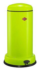 Wesco ウェスコ キッチンペダルビン&メタルライナー BASEBOY グリーン 135531-20 [20L /ペダル式]