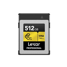 LEXAR CFexpressカード Professional CFexpress Type B LCXEXP0512G-RNENJ [512GB]