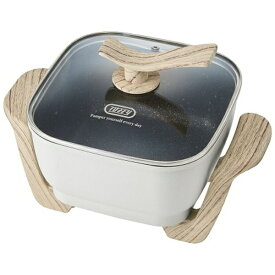 ラドンナ LADONNA コンパクトマルチ電気鍋 Toffy ASH WHITE K-HP3-AW【rb_cooking_cpn】