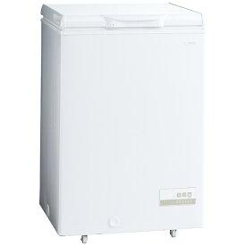 AQUA アクア 直冷式冷凍庫 スノーホワイト AQF-10CK-W [1ドア /上開き /103L]