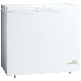 AQUA アクア 直冷式冷凍庫 スノーホワイト AQF-21CK-W [1ドア /上開き /205L]《基本設置料金セット》