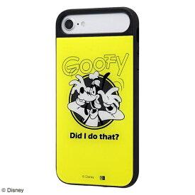 イングレム Ingrem iPhone SE(第2世代)/iPhone 8/iPhone 7/iPhone 6s/iPhone 6 ケース キャトル パネル グーフィー/GREEN IQ-DP76PCB/GF002