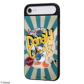 イングレム Ingrem iPhone SE(第2世代)/iPhone 8/iPhone 7/iPhone 6s/iPhone 6 ケース キャトル パネル ドナルドダック/CLAP IQ-DP76PCB/DD003