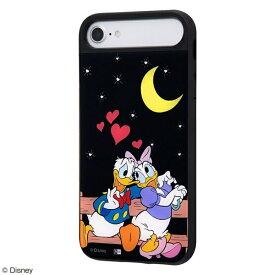イングレム Ingrem iPhone SE(第2世代)/iPhone 8/iPhone 7/iPhone 6s/iPhone 6 ケース キャトル パネル ドナルドダック デイジーダック/Date IQ-DP76PCB/DD005