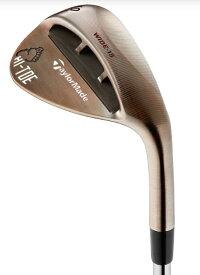 テーラーメイドゴルフ Taylor Made Golf ウェッジ HI-TOE RAW BIGFOOT ハイ・トウ ロウ ビッグフット ウェッジ ロフト:58°/バウンス:15°《Dynamic Gold シャフト》S200