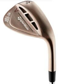 テーラーメイドゴルフ Taylor Made Golf ウェッジ HI-TOE RAW WEDGE ハイ・トウ ロウ ウェッジ ロフト:58°/バウンス:10°《Dynamic Gold シャフト》S200