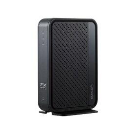 エレコム ELECOM Wi-Fiルーター 親機 2402+574Mbps ブラック WRC-X3000GSN [Wi-Fi 6(ax)/ac/n/a/g/b]